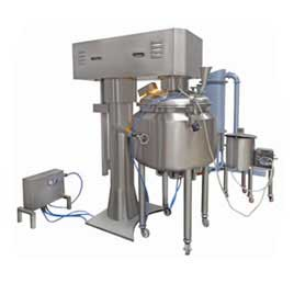 Planetary Mixer-300l With Spraying System & Wet Scrubber