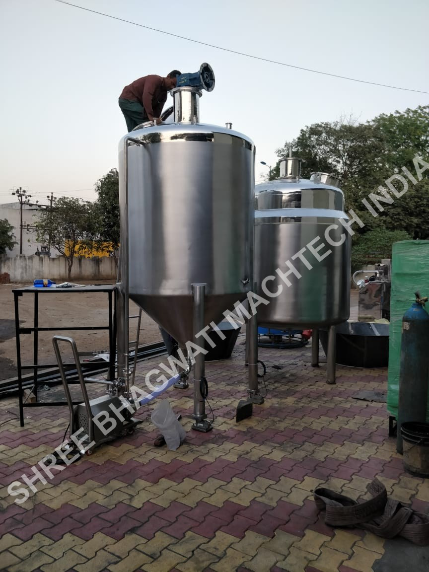 stainless steel agitator vessels for the chemicals, pharmaceutical, plastics, dye, paint, food,