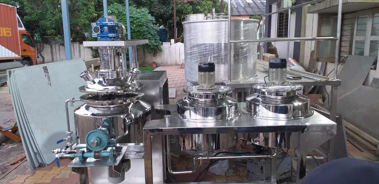 Ointment Manufacturing Plant Ointment Making Plant